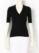 Cross Vneck Knit