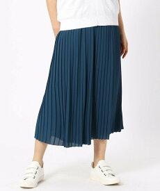 【SALE/60%OFF】COMME CA ISM プリーツ スカーチョ コムサイズム パンツ/ジーンズ パンツその他 ブルー グレー ブラック