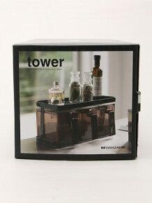 tower (タワー)/tower (タワー) 調味料ストッカー&ラック3個セット