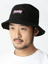 "NEW ERA×BEAMS / ""THRASHER COLLECTION"" バケットハット"