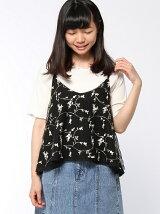 【RETRO GIRL】刺繍チュール キャミset