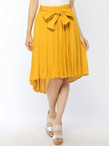 楊柳テールヘムフレアスカート