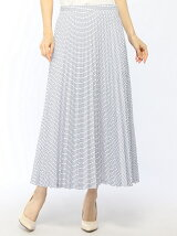 (W)『Made in France』 チェックロングスカート