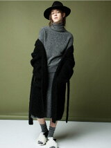 SUPER KID MOHAIR long cardigan