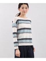 【13号】マルチボーダーセーター