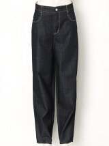 COCOON DENIM PANTS