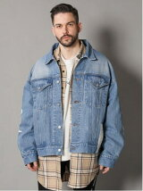 GA SPS BIG DENIM BLOUSON