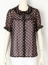 GIRL-SITS! dot blouse