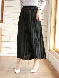 すきな丈プリーツスカート(ミモレ) アースミュージック&エコロジー スカート