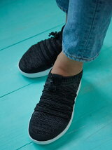 (W)UBERKNIT SLIP-ON GHILLIE SNEAKERS