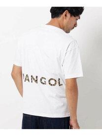 【SALE/30%OFF】THE SHOP TK 【01(S)WEB限定サイズ】KANGOL別注バックプリントTシャツ ザ ショップ ティーケー カットソー Tシャツ ホワイト ブラック イエロー パープル