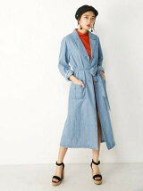 LOOSE DENIM GOWN