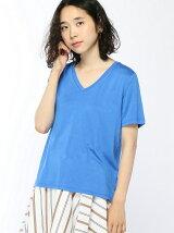 ソフトVネックTシャツ