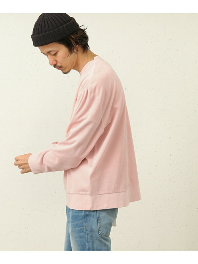 【SALE/50%OFF】Sonny Label ベロアロングTシャツ サニーレーベル カットソー【RBA_S】【RBA_E】