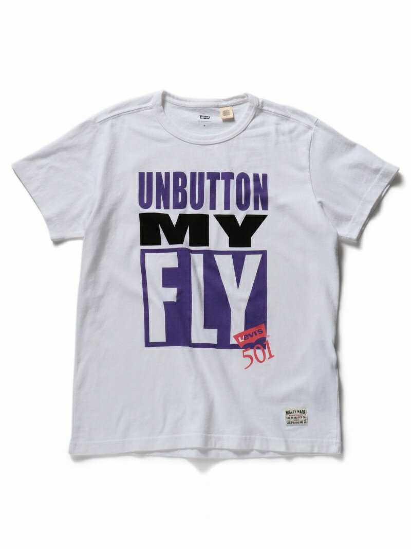 Levi's UNBUTTON MY FLY Tシャツ リーバイス カットソー【送料無料】
