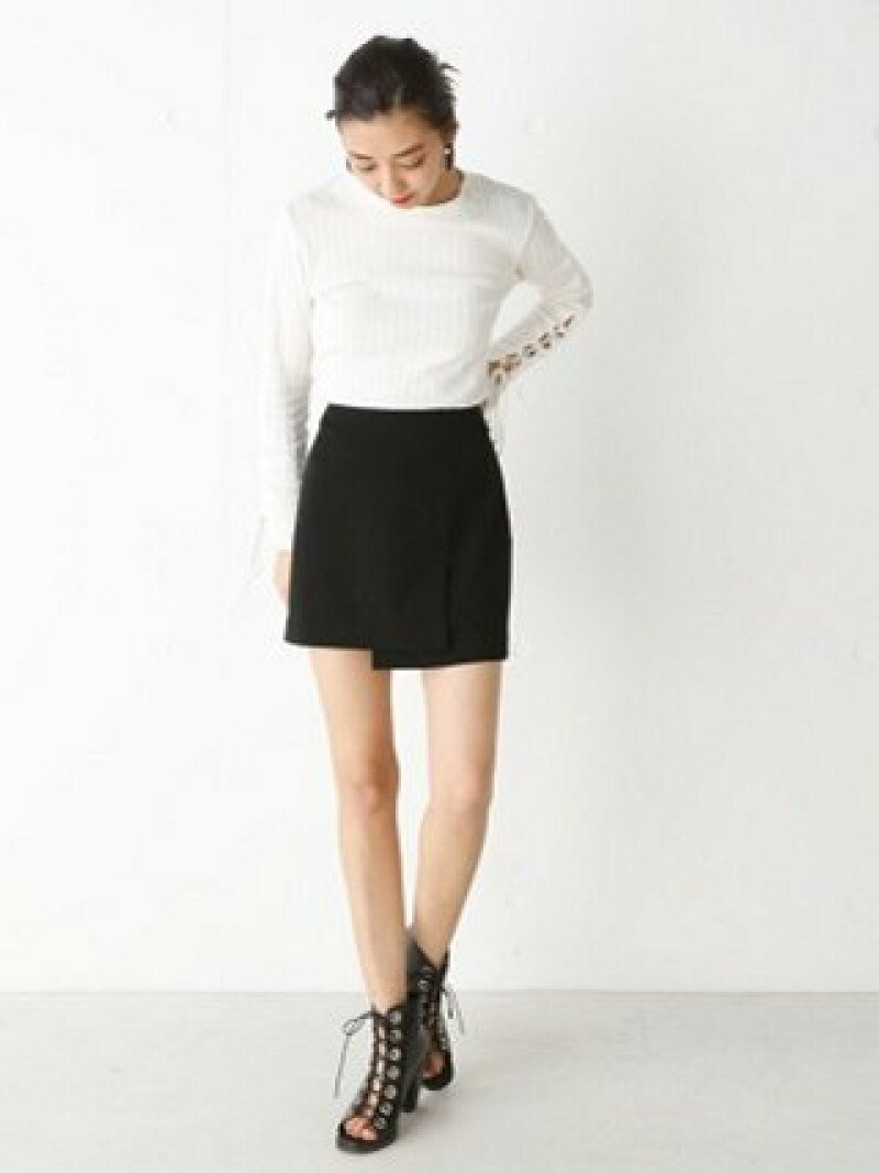 【SALE/60%OFF】SLY WRAP BOX ショートスカート スライ スカート【RBA_S】【RBA_E】