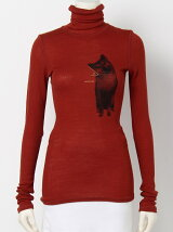 wool ribhigh neck pullover