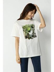 TOKYO DESIGN CHANNEL スターウォーズT2(ヨーダ) イッカ カットソー Tシャツ ホワイト