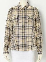 【R】カジュアルチェックシャツ