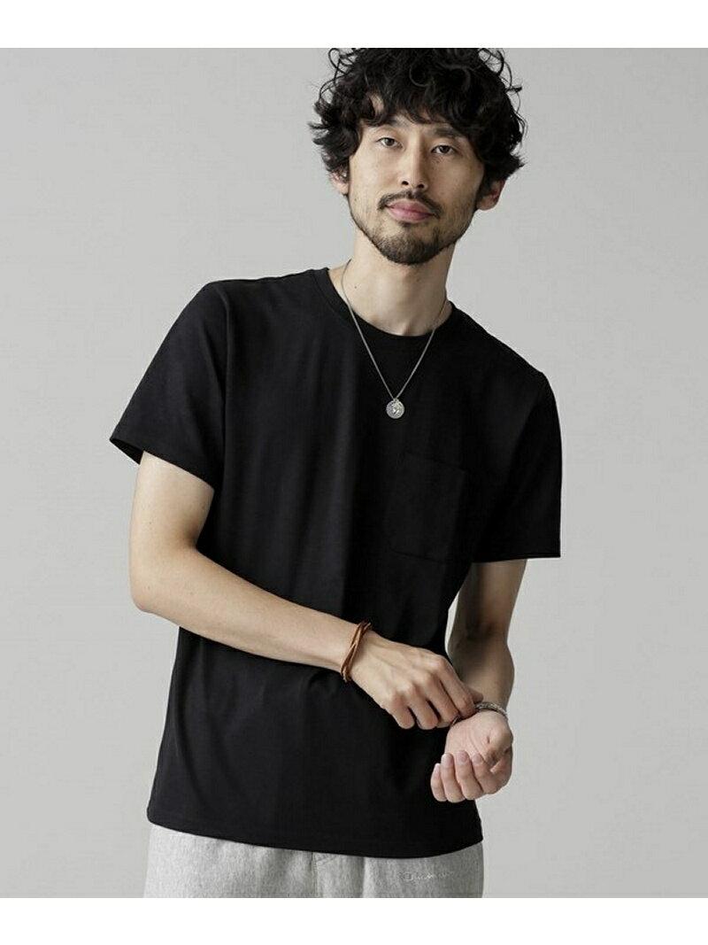 nano・universe Anti Soaked ヘビークルーネックTシャツ ナノユニバース カットソー【送料無料】