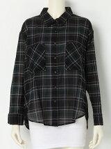 [アウトレット]【R】チェックドルマンシャツ