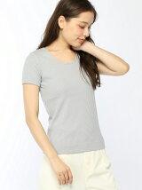 ラメリブTシャツ