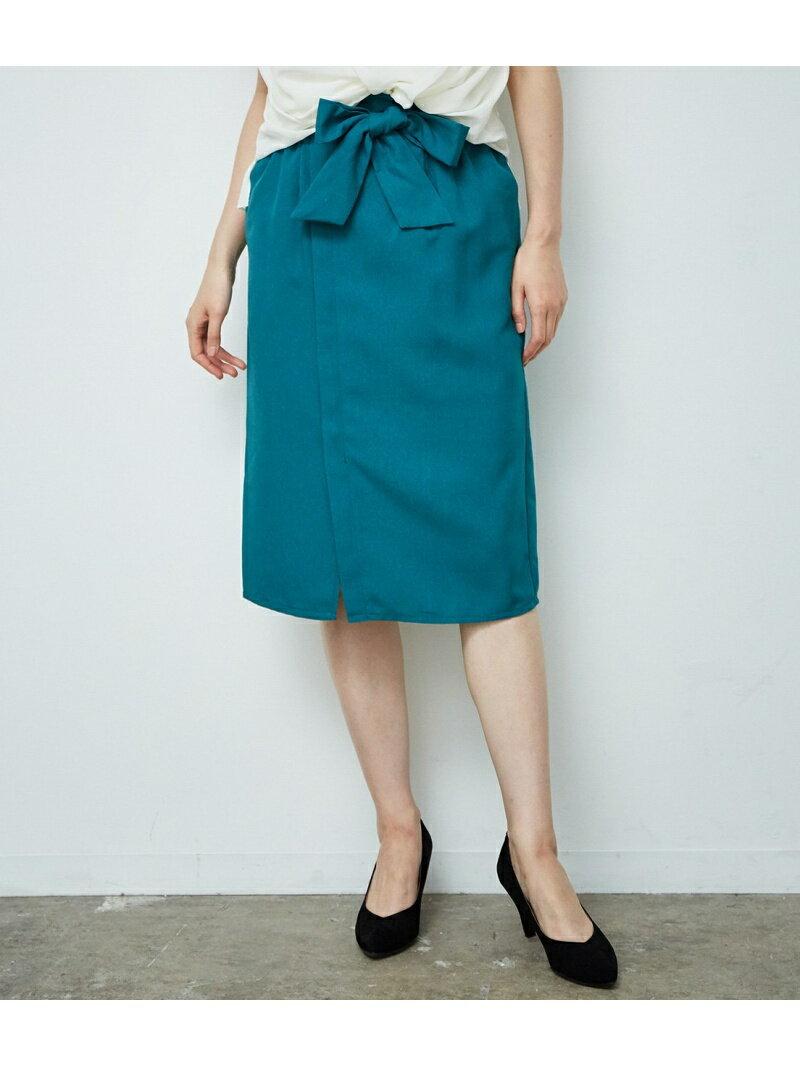ROPE' PICNIC 【新色追加】【HAPPY PRICE】麻調アイラインスカート ロペピクニック スカート