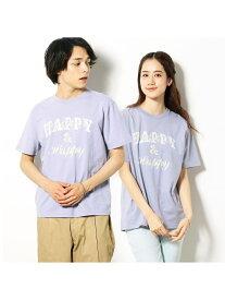 【SALE/50%OFF】Purple&Yellow 半袖ロゴ Tシャツ コムサイズム カットソー Tシャツ パープル ホワイト ネイビー ピンク