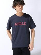 (M)吸水速乾 AIGLEロゴTシャツ