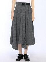 (W)タックアシンメトリースカート