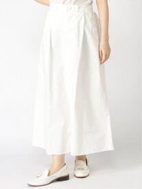 【SALE/50%OFF】Samansa Mos2 台形ロングスカート サマンサモスモス スカート 台形スカート/コクーンスカート ホワイト カーキ ネイビー ベージュ