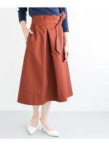リボンフレアースカート