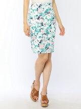 プリントタイトスカート
