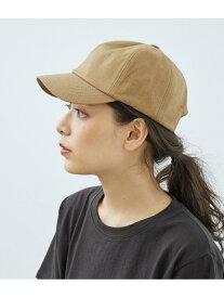 【SALE/50%OFF】ROPE' PICNIC PASSAGE 綿麻キャップ ロペピクニック 帽子/ヘア小物 キャップ ブラウン ブラック ベージュ