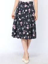 ボタニカルミディスカート