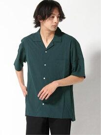 【SALE/30%OFF】OUTDOOR PRODUCTS OUTDOOR PRODUCTS/(M)オープンカラーシャツ ストレッチ ジーンズメイト シャツ/ブラウス 半袖シャツ グリーン グレー ネイビー ブラック ベージュ ブラウン