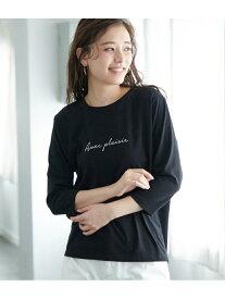 【SALE/60%OFF】【WEB限定】メッセージロゴTシャツ ロペピクニック カットソー【RBA_S】【RBA_E】