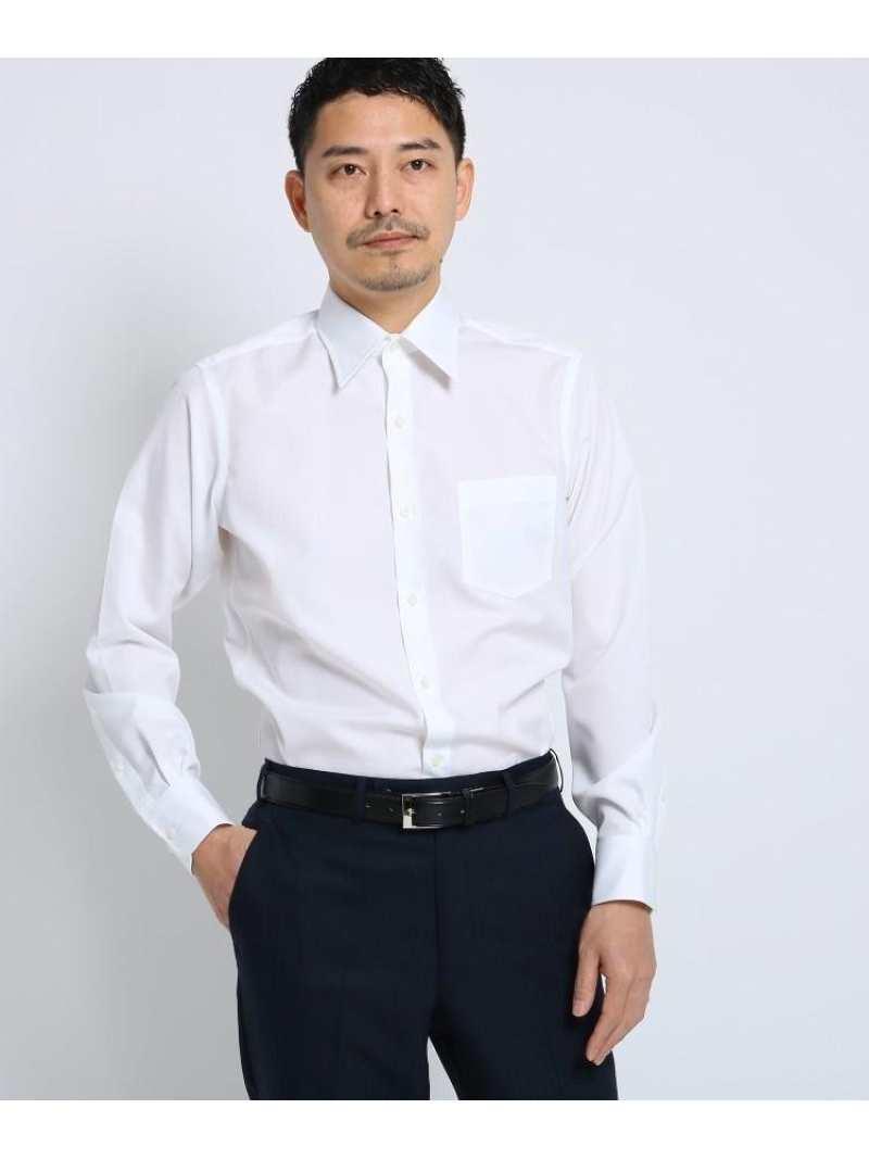 TAKEO KIKUCHI 100/2ブロードシャツ[ メンズ シャツ ワイシャツ 形態安定 無地 白 ] タケオキクチ シャツ/ブラウス【送料無料】