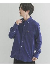 URBAN RESEARCH Scye Organic Cotton Corduroy Shirts アーバンリサーチ シャツ/ブラウス シャツ/ブラウスその他 ブルー ホワイト【送料無料】