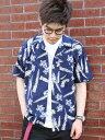 coen 【NOMA textile design別注】アロハオープンカラーシャツ コーエン【送料無料】