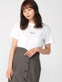 【SALE/20%OFF】WEGO 0/(L)chillout刺繍ロゴT ウィゴー カットソー Tシャツ ホワイト ブラック