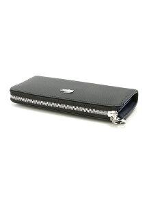(W)レディースDAILYCLASSICコーテッドピケキャンバスカード10枚収納ファスナー財布