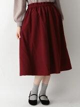 ウエストフリルギャザースカート
