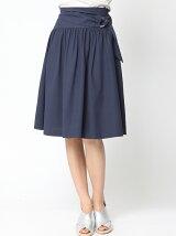 強撚ツイルサッシュ風スカート