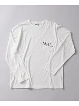 MHL.×URBAN RESEARCH 別注LOGO LONG-SLEEVE T-SHIRTS