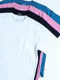 【SALE/50%OFF】coen USAコットンクルーネックTシャツ コーエン カットソー Tシャツ ホワイト ネイビー