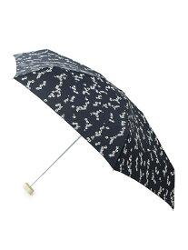 ROPE' PICNIC PASSAGE 【晴雨兼用】ヴィンテージフラワーミニアンブレラ ロペピクニック ファッショングッズ 日傘/折りたたみ傘 ネイビー ピンク