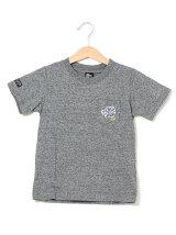 ポケット虎刺繍半袖Tシャツ
