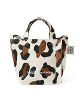 LEOPARD 2WAY TOTE S