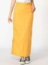 ZIP SLIT MAXI SKIRT